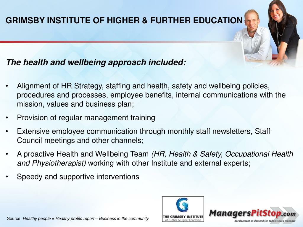 GRIMSBY INSTITUTE OF HIGHER & FURTHER EDUCATION