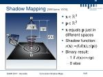 shadow mapping williams 1978