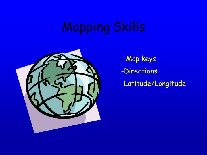 Mapping skills2