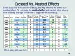crossed vs nested effects19