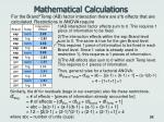 mathematical calculations24