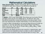 mathematical calculations25