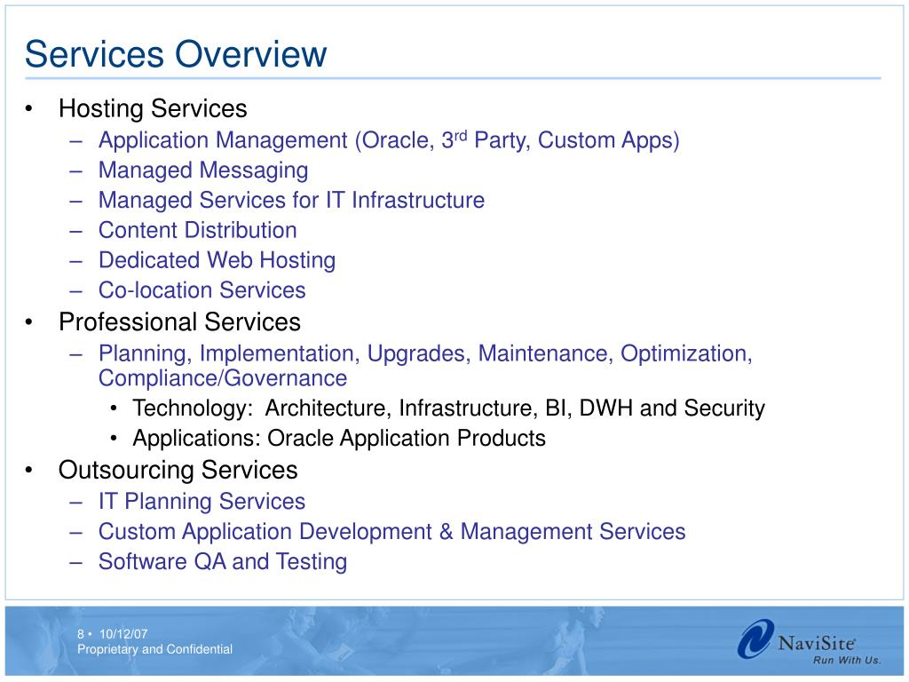 Services Overview