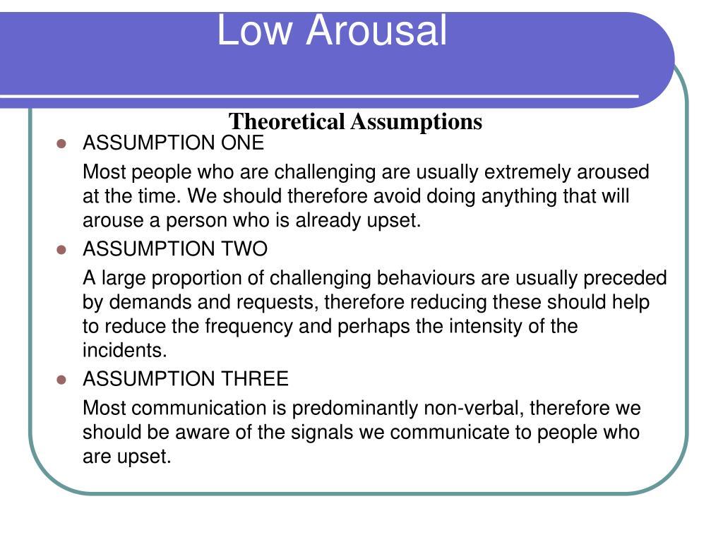 Low Arousal