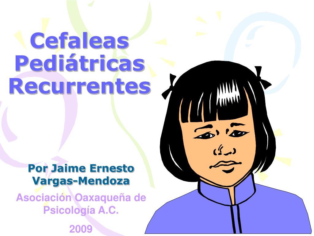 Cefaleas Pediátricas Recurrentes