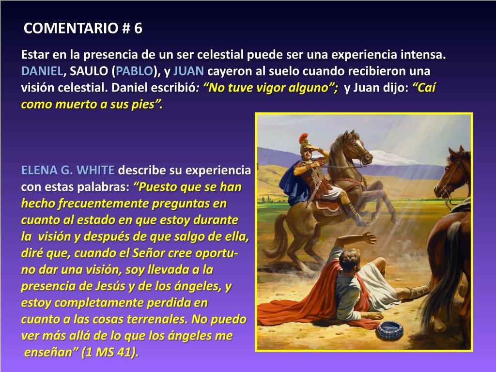 COMENTARIO # 6