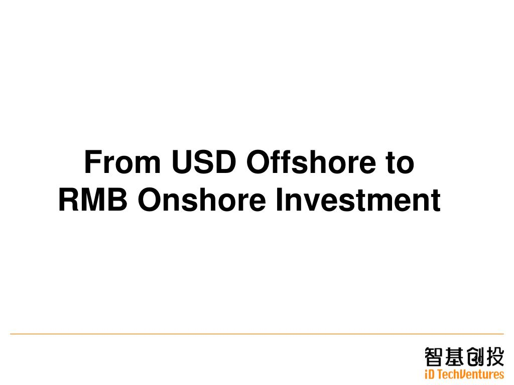 From USD Offshore to