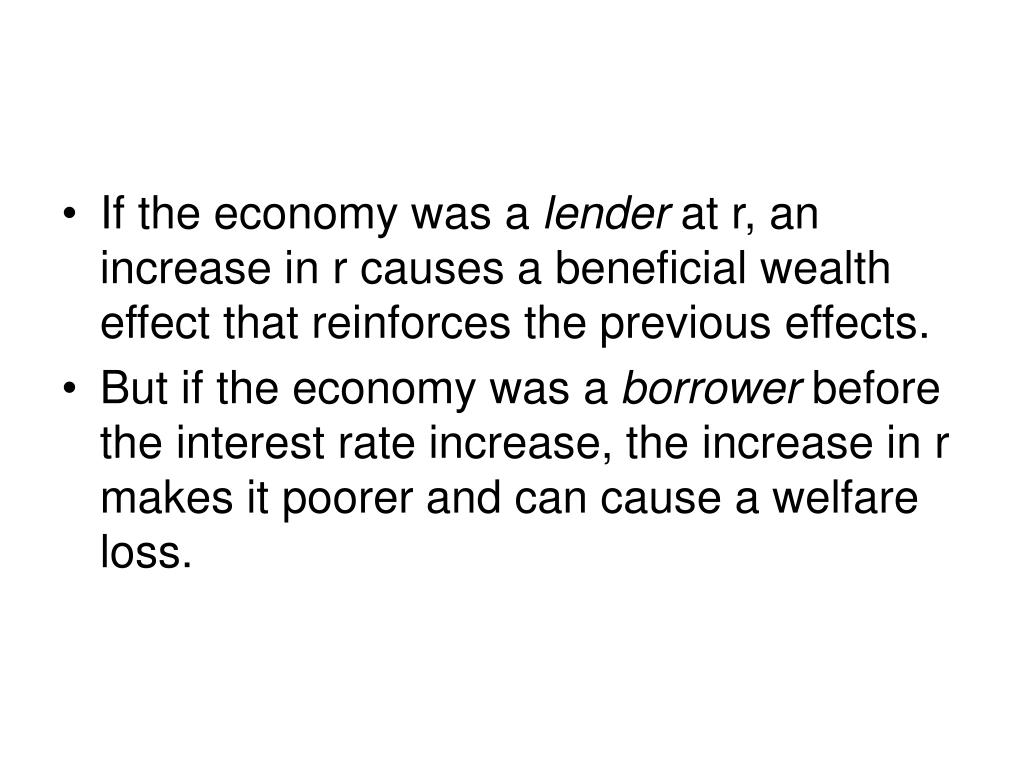 If the economy was a
