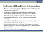 professional development approaches