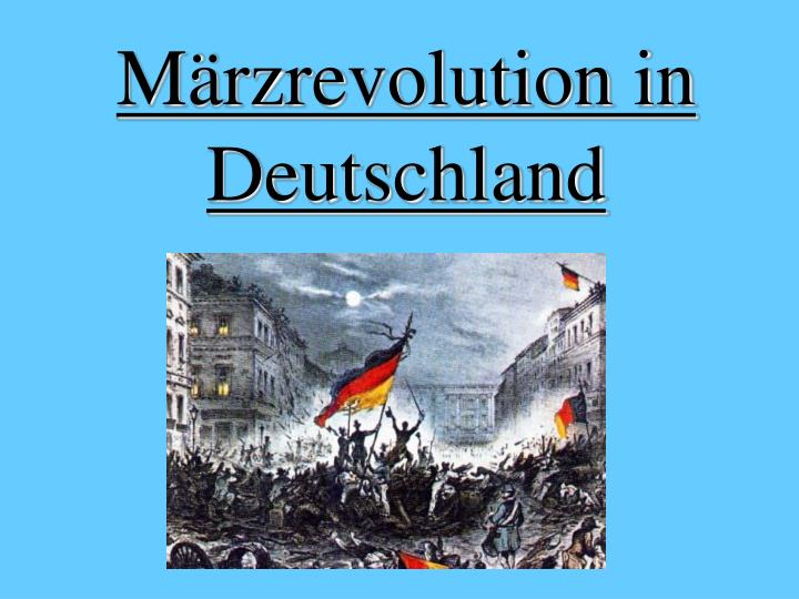 M rzrevolution in deutschland