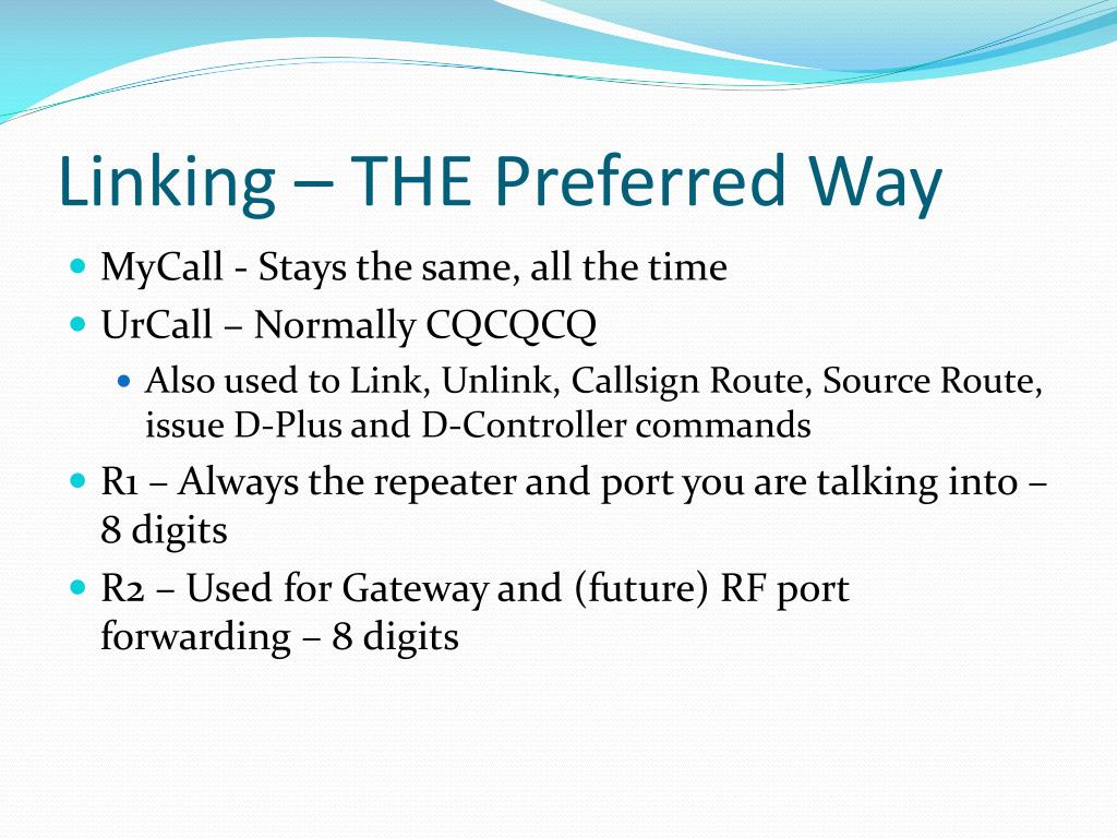 Linking – THE Preferred Way