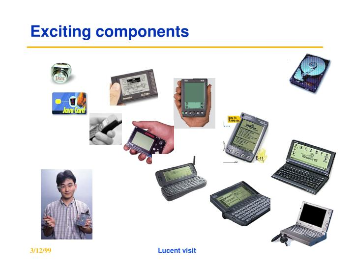 Exciting components