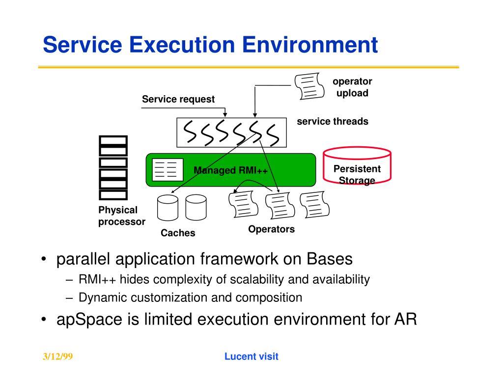 Service Execution Environment