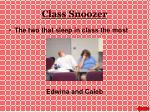class snoozer