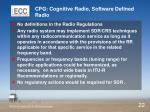 cpg cognitive radio software defined radio