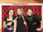 valentine dances