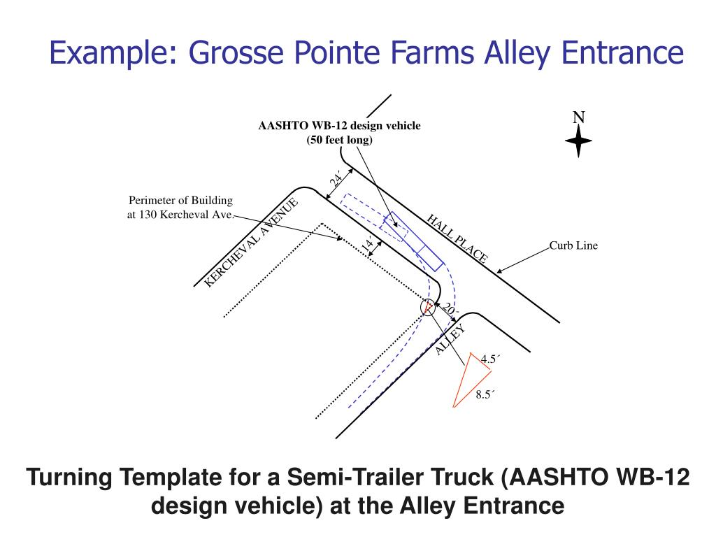 Example: Grosse Pointe Farms Alley Entrance