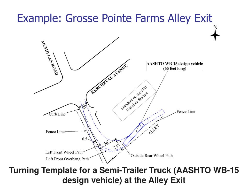 Example: Grosse Pointe Farms Alley Exit