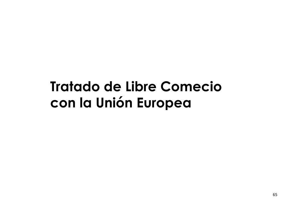 Tratado de Libre Comecio con la Unión Europea