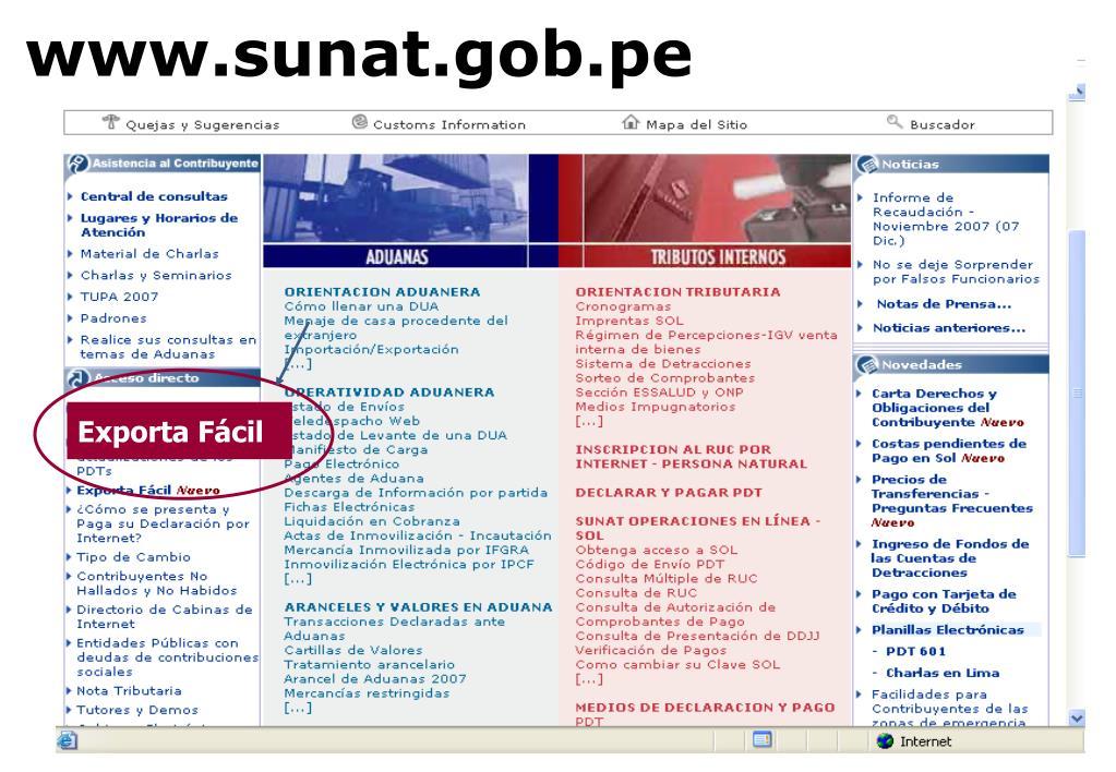 www.sunat.gob.pe