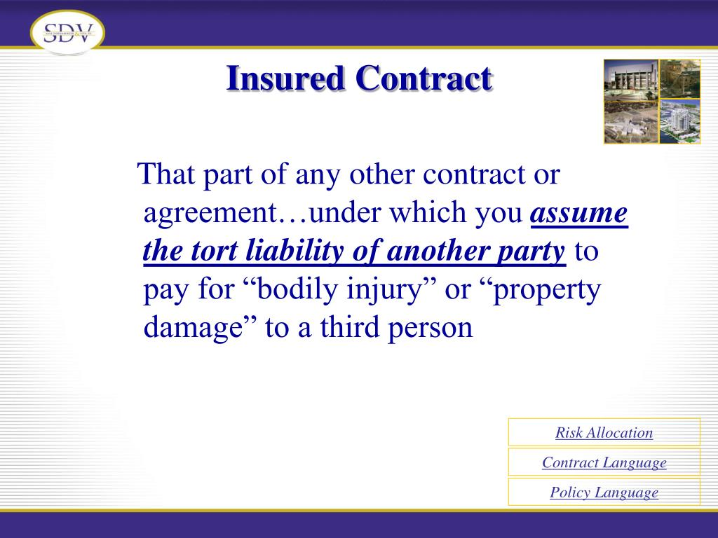Insured Contract