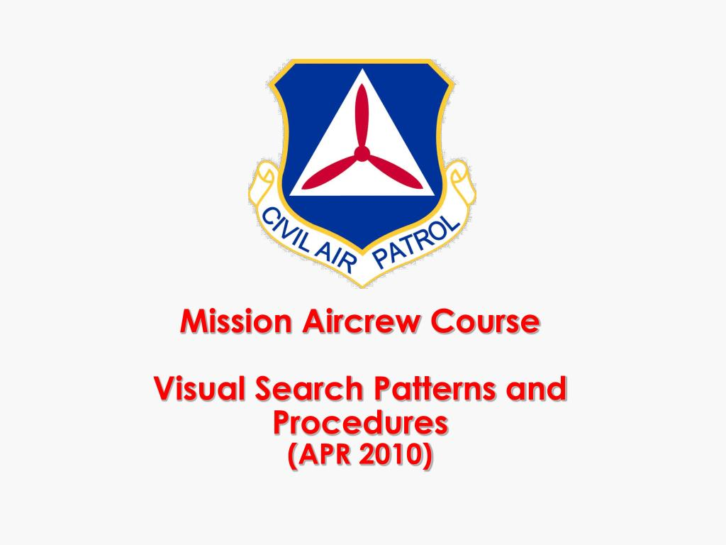 mission aircrew course visual search patterns and procedures apr 2010