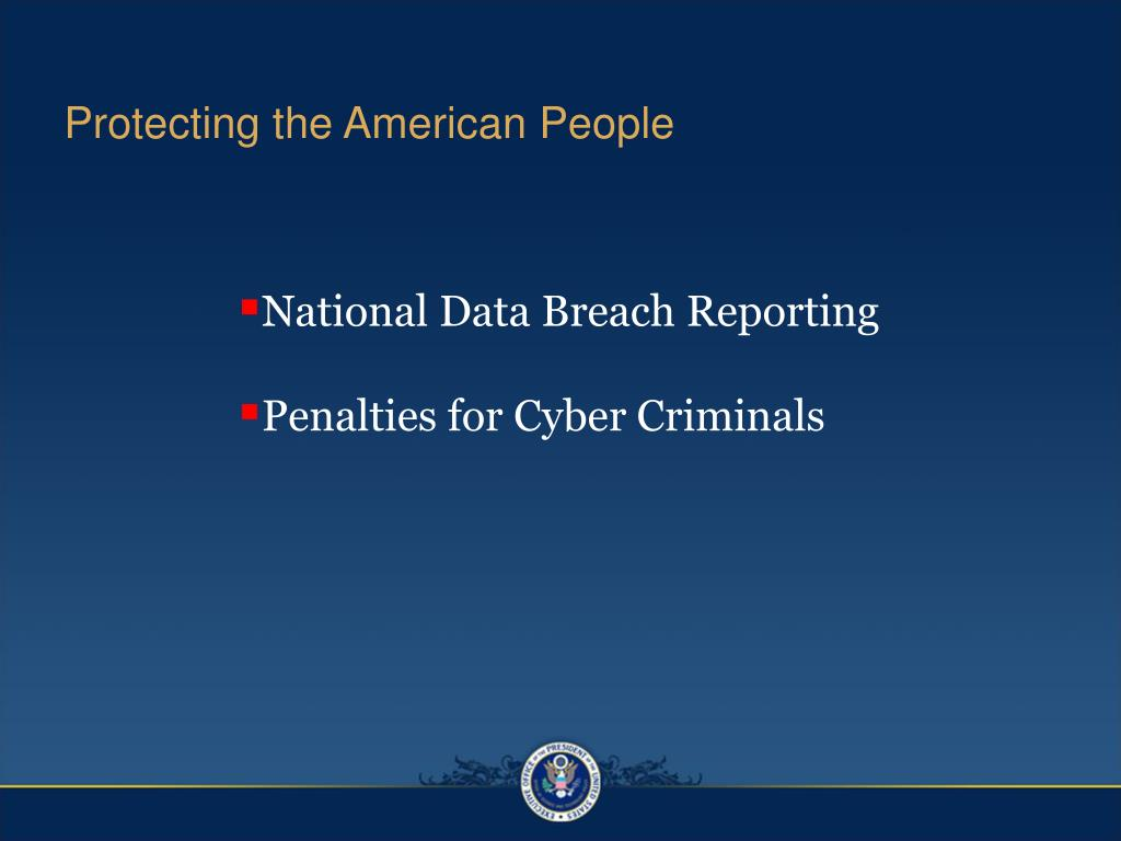 Protecting the American People