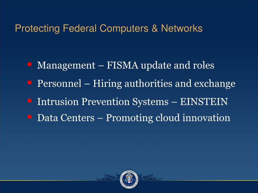 Protecting Federal Computers & Networks