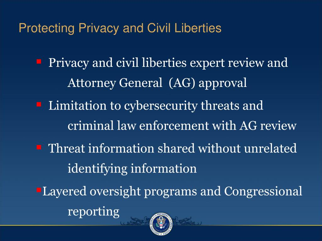 Protecting Privacy and Civil Liberties