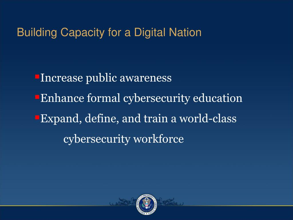 Building Capacity for a Digital Nation