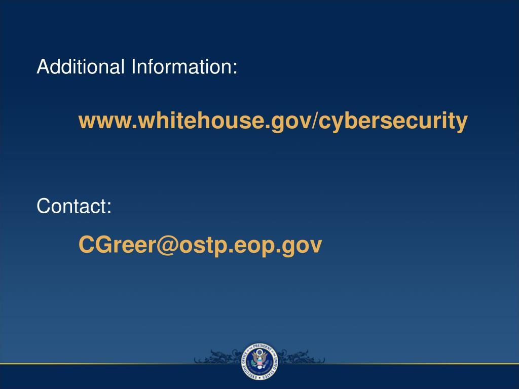 Additional Information: