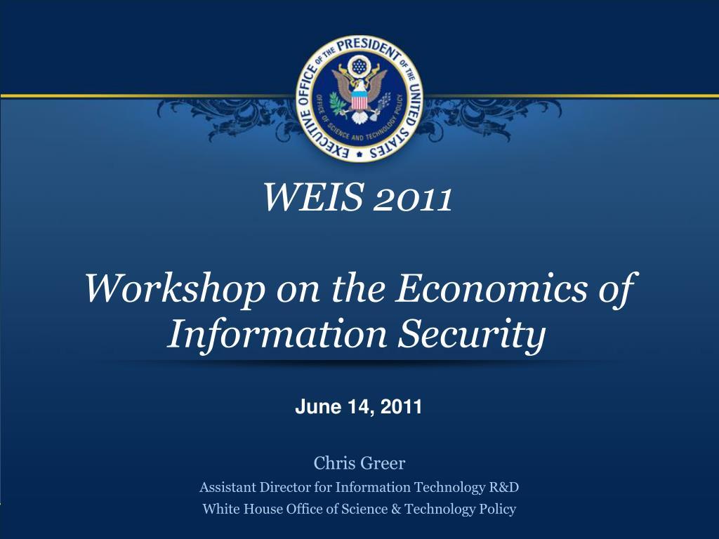WEIS 2011