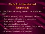 turtle life histories and temperature53