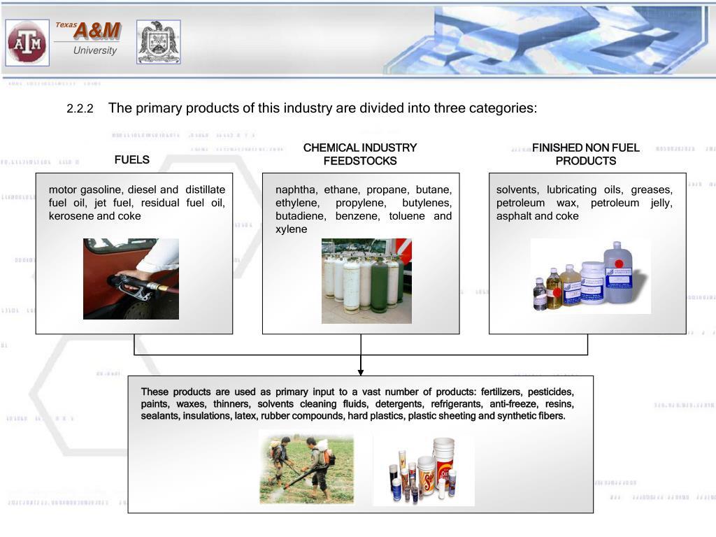 motor gasoline, diesel and  distillate fuel oil, jet fuel, residual fuel oil, kerosene and coke