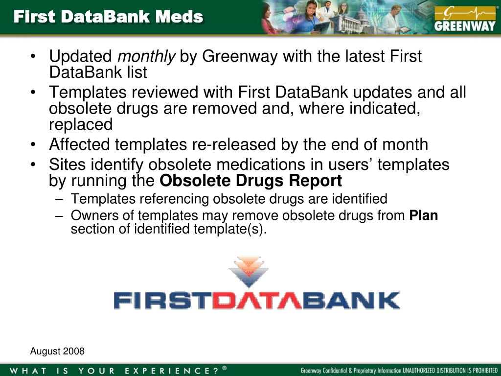 First DataBank Meds