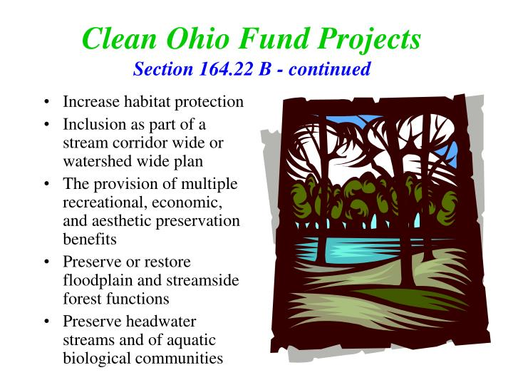 Clean Ohio Fund Projects