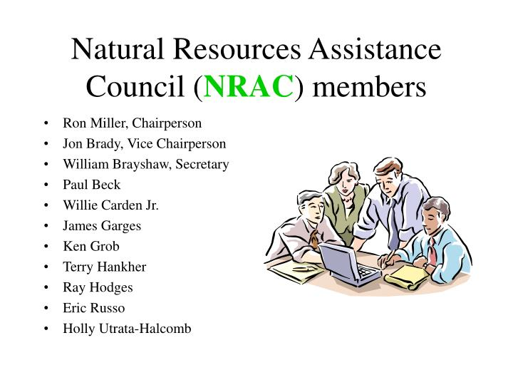 Natural Resources Assistance Council (