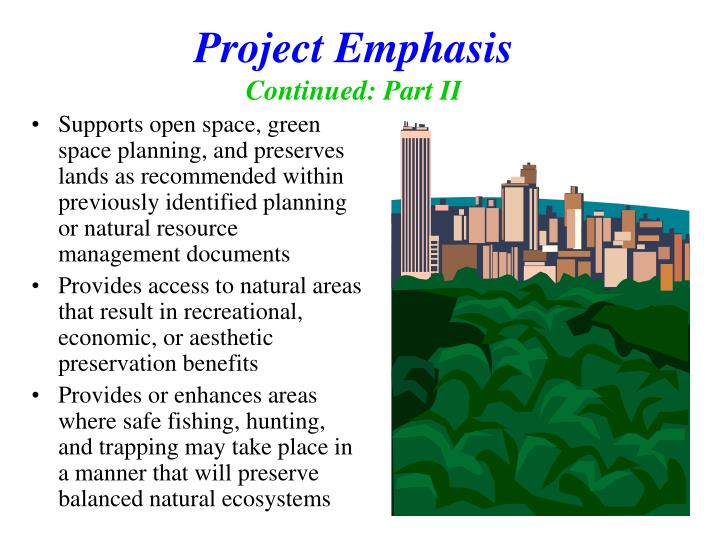 Project Emphasis