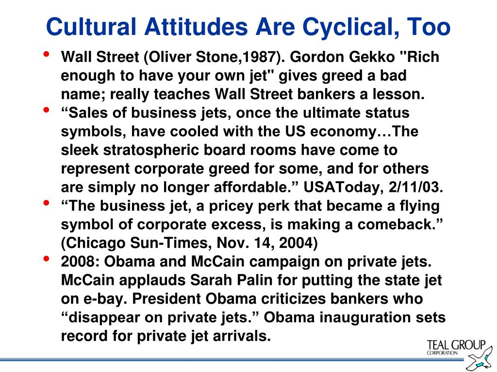 Cultural Attitudes Are Cyclical, Too