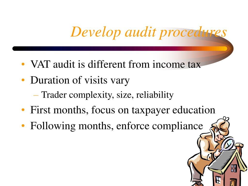 Develop audit procedures