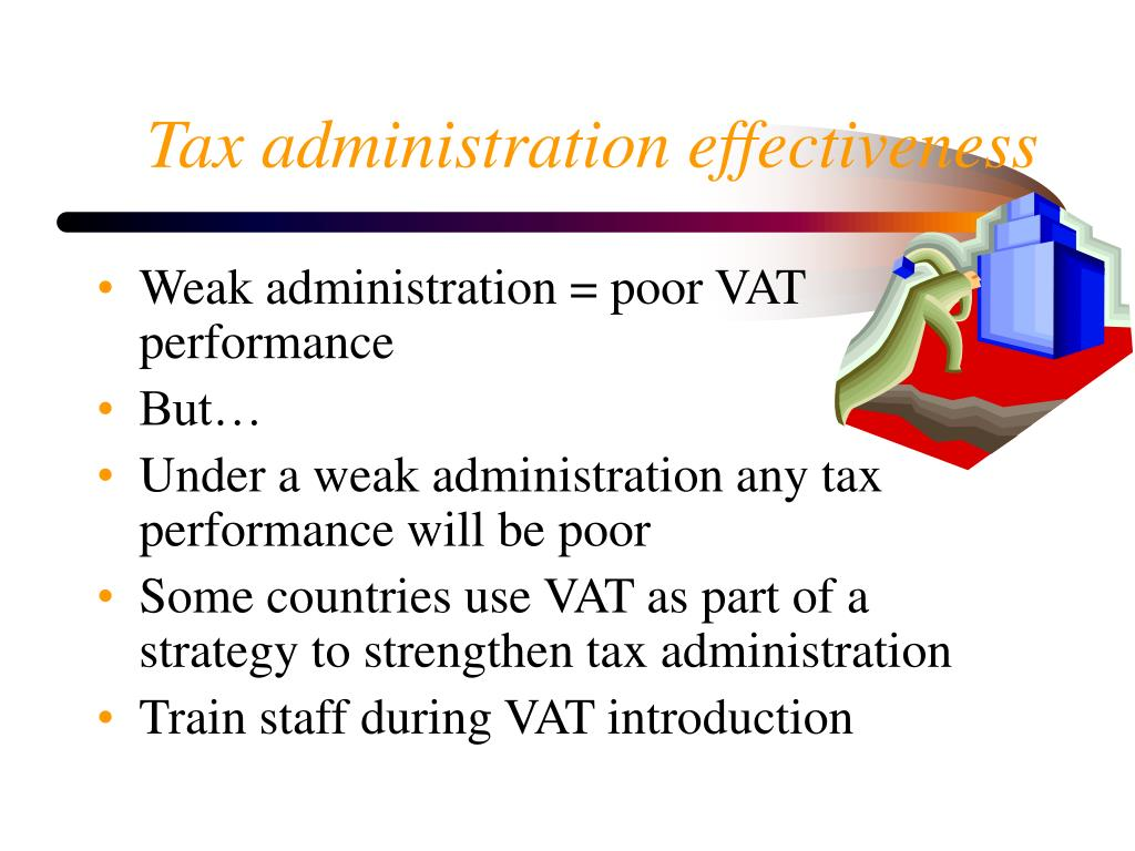 Tax administration effectiveness