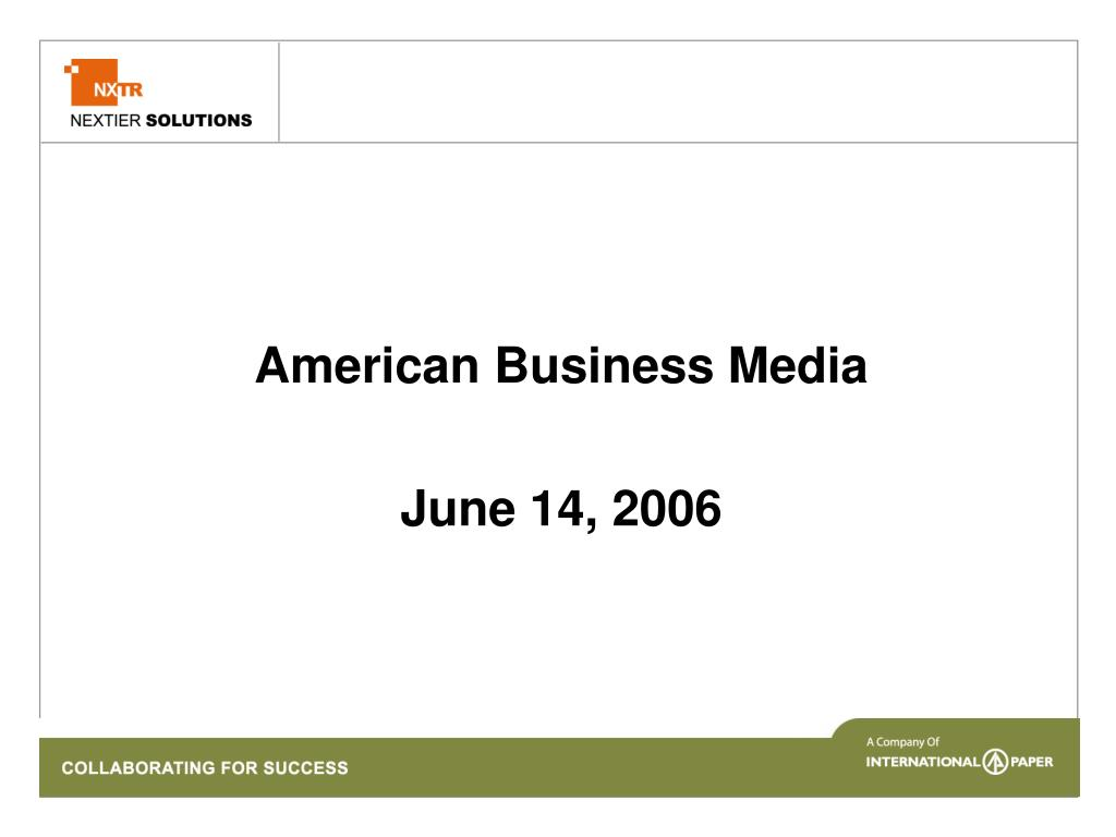 American Business Media