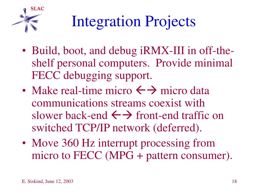 Integration Projects