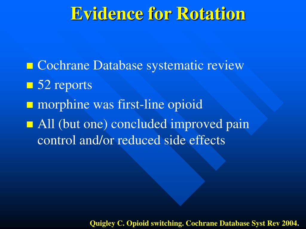 Evidence for Rotation