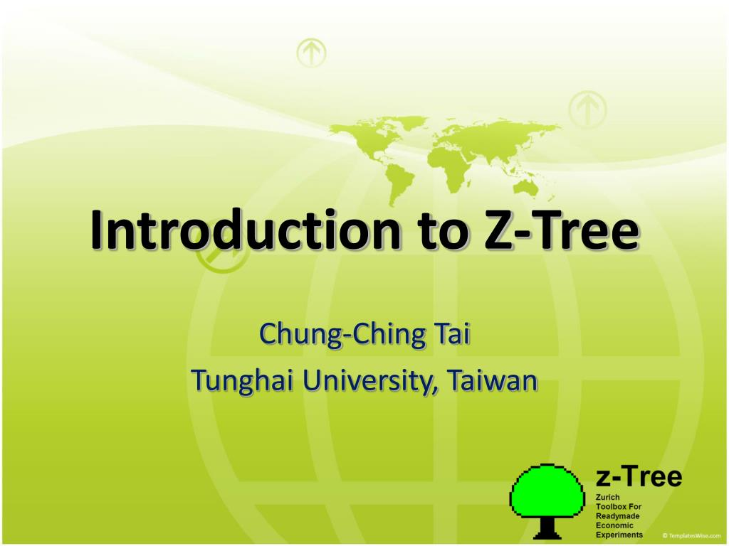 introduction to z tree l.