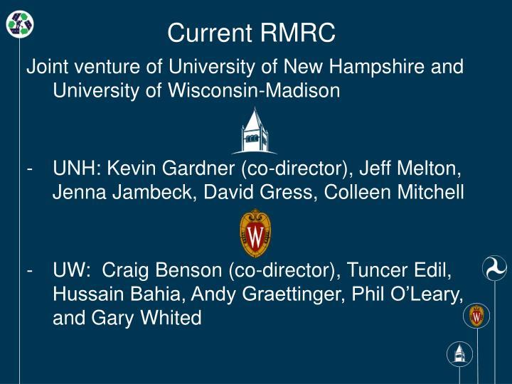 Current RMRC