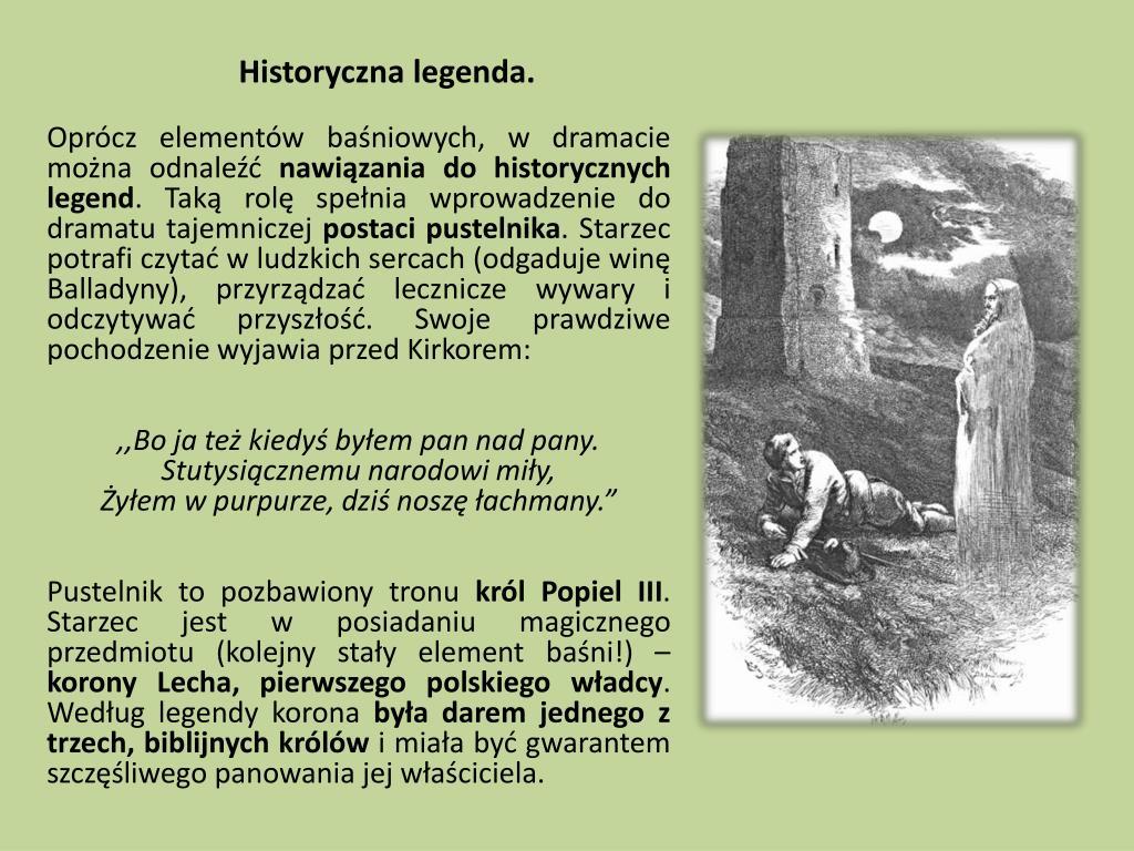 Historyczna legenda.
