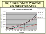 net present value of protection and replacment costs28