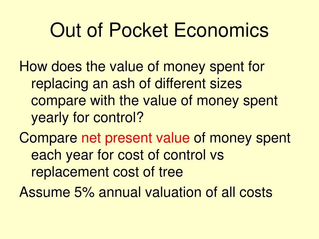 Out of Pocket Economics