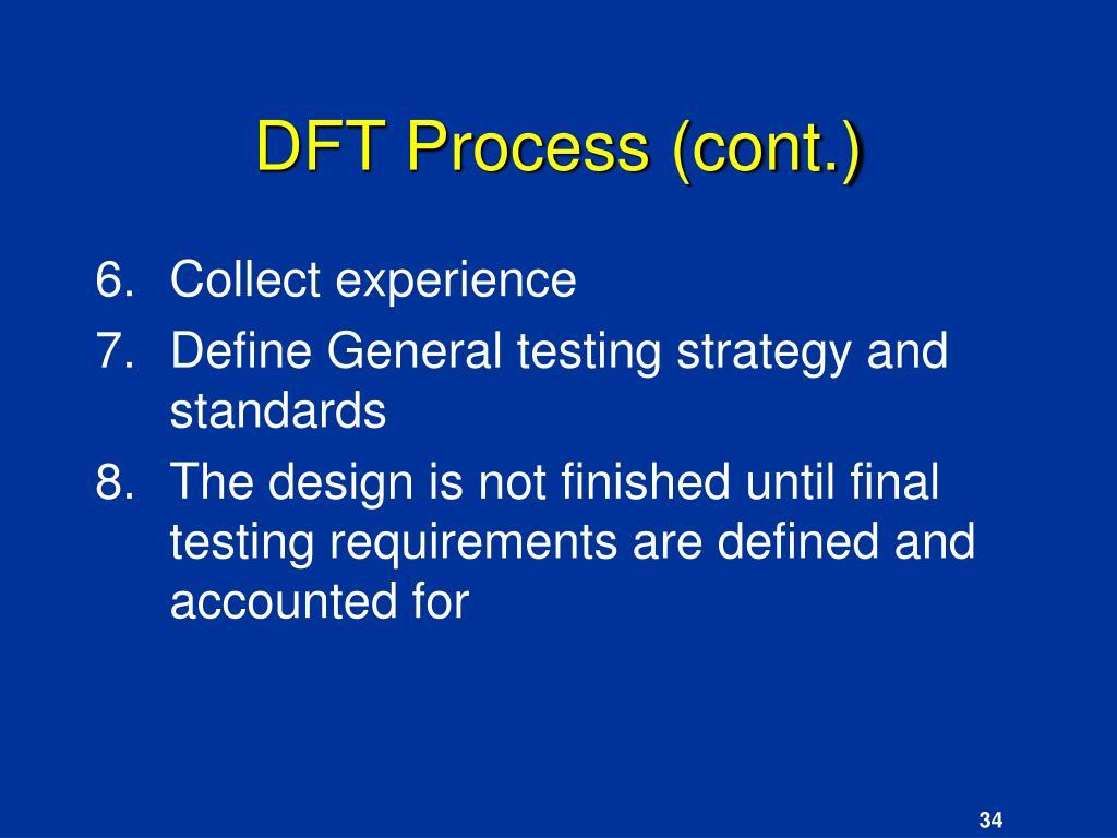 DFT Process (cont.)